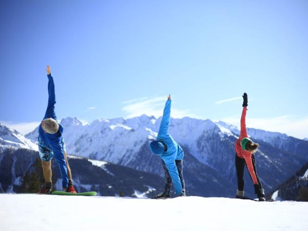 Winter walking and yoga holiday in Austria