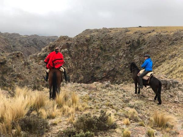 Horse riding trek in Argentina