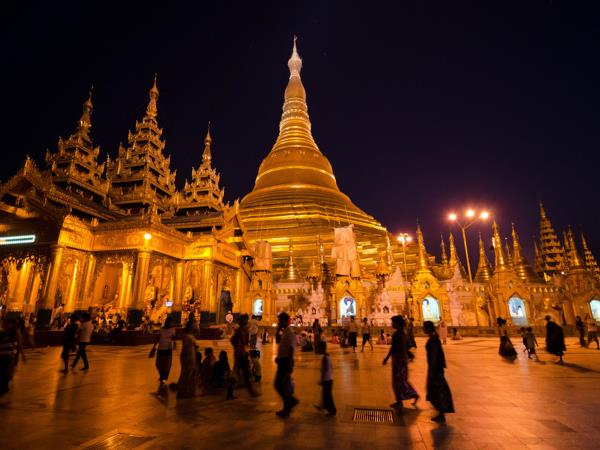 Myanmar 5 day holiday, Yangon and Bagan
