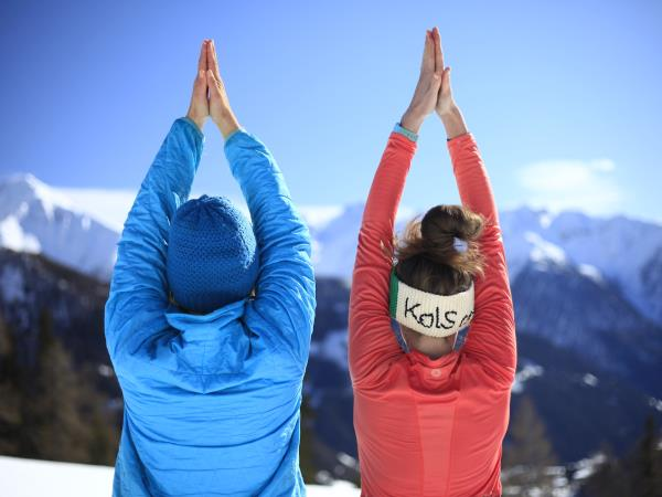 Learn to ski and yoga holiday in Austria