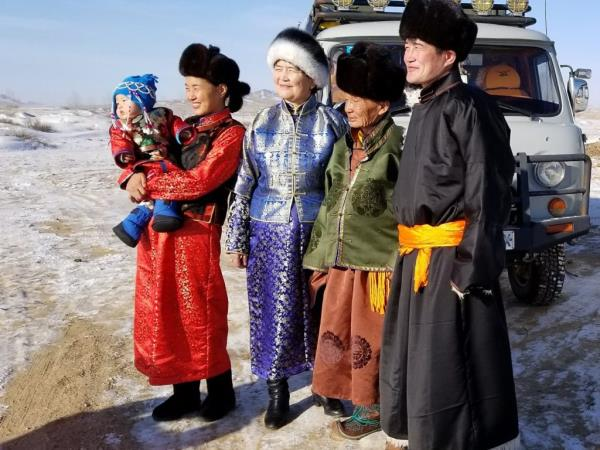 Mongolia winter holiday