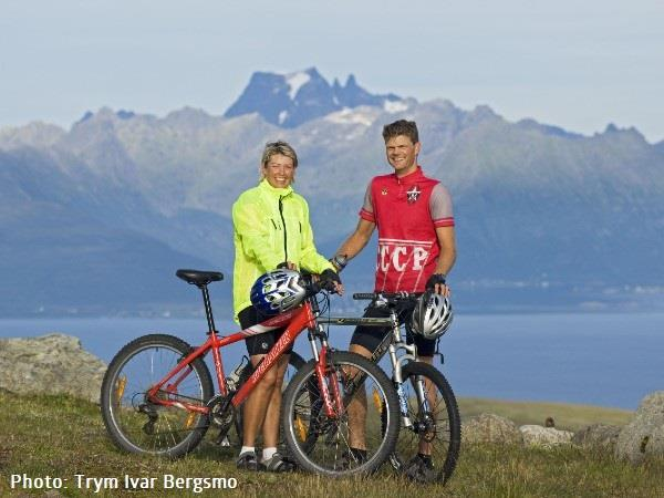 Cycling holiday in Norway, The islands north of Lofoten