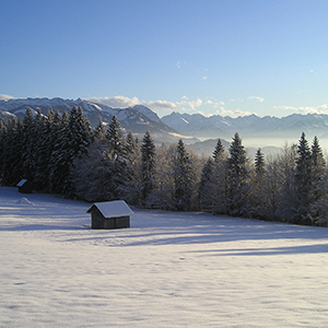 Cross country skiing in Germany