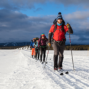 Cross country skiing holiday tips