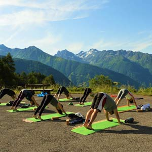 Yoga holidays in Austria