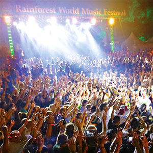 Rainforest World Music Festival Sarawak Borneo