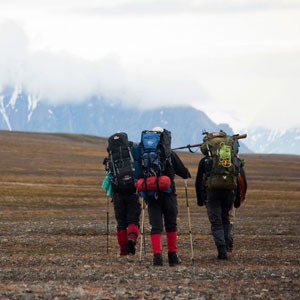 Land based trips in Spitsbergen
