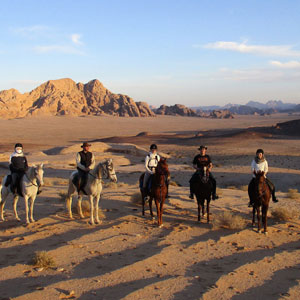 Horse riding holidays in Jordan