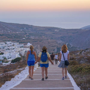 Walking in the Cyclades