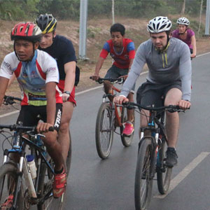 Types of cycling holiday in Cambodia
