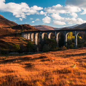 West Highland Line in Scotland