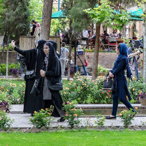 Women only holidays to Iran
