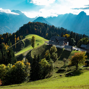 Slovenia self drive holidays
