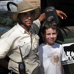 Safaris with kids