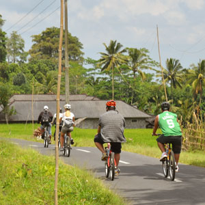 Indonesia cycling map & highlights