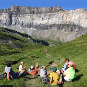 Family activity holidays in the french Alps