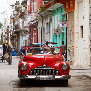 Self drive holidays in Cuba