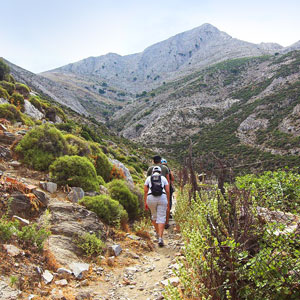 Naxos walking holidays