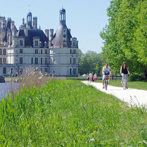 Chateau to chateau cycling