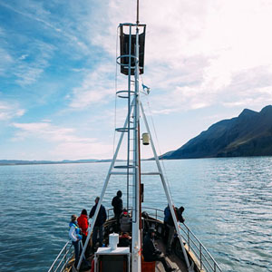 Iceland small ship cruising map & highlights