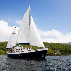 Small ship wildlife safaris in Scotland
