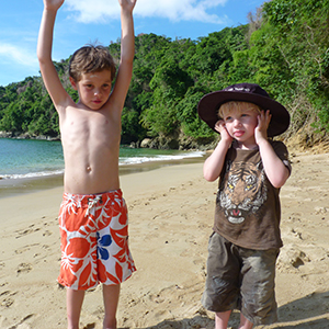 Travelling in Tobago with kids