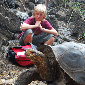 Travelling in the Galapagos with kids