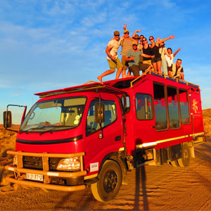 Africa overland routes & highlights