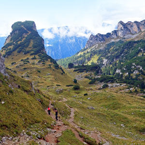 Walking holidays in Austrias North Tyrol region