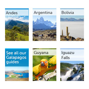 All our South America guides