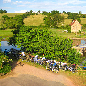 Cycling holidays in Burgundy