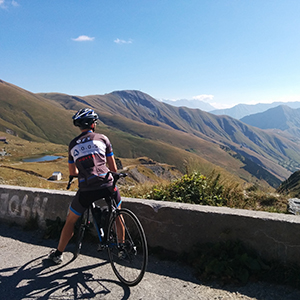 Cycling in France training & climbing