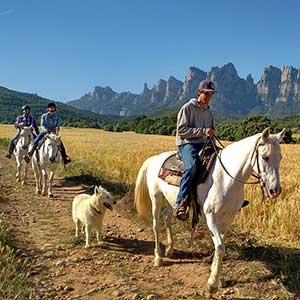 Horse riding holidays in Catalonia