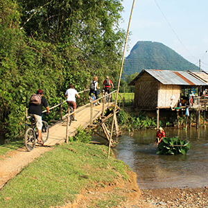 Cycling in Indochina