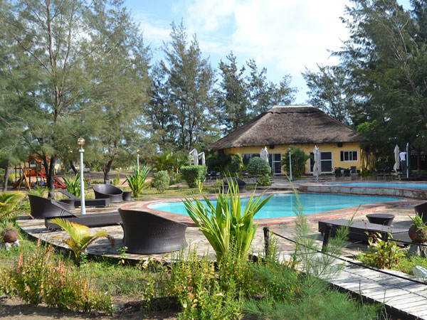 Mozambique beach lodge accommodation
