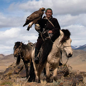 Kazakh Eagle Hunters