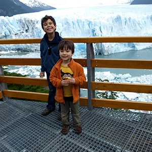Travelling in Patagonia with kids
