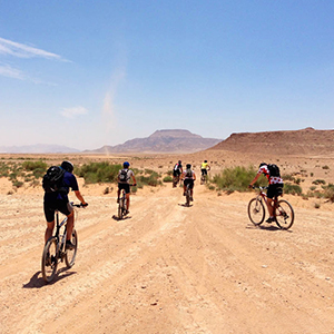 Petra and Wadi Rum by bike