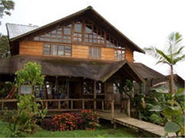 Cloudforest ecolodge in Ecuador