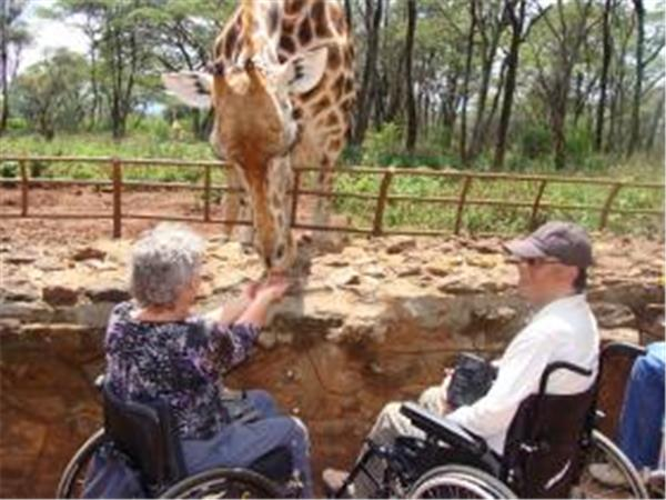 Wheelchair accessible safari in Kenya