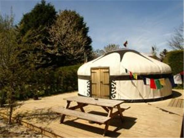 East Sussex yurt glamping near Rye, England