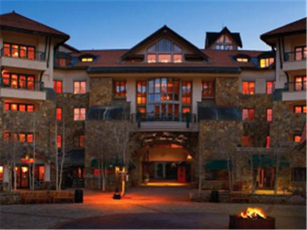 Telluride lodge in Colorado, USA