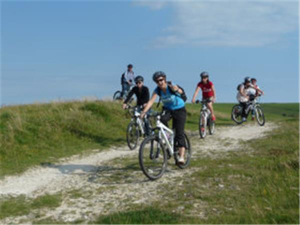 Sussex cycling day tours, England