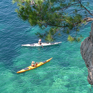 Sea kayaking Croatia