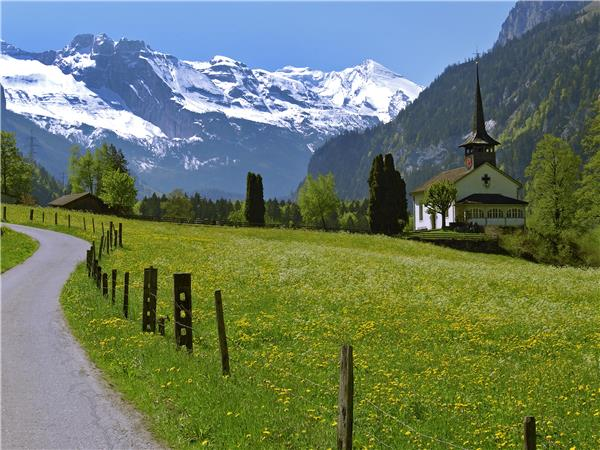 Swiss Alps walking holiday, self guided