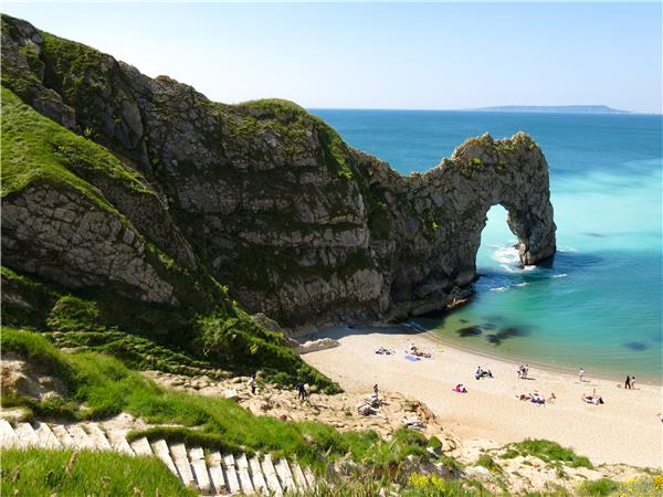 Dorset walking holiday, the Jurassic Coast