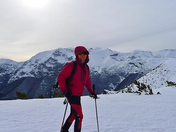 Winter walking and snowshoeing holiday in Italy