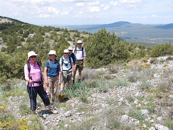 Sierra de las Mamblas walking holiday in Spain
