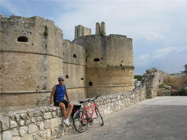 Self guided cycling holiday in Italy