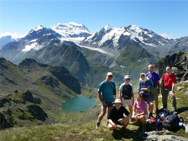 Mont Blanc to the Matterhorn trekking holiday